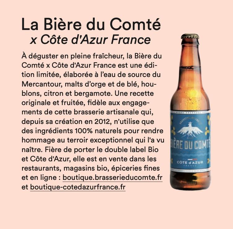 Article » x Côte d'Azur France » Marie Claire – Juillet 2020