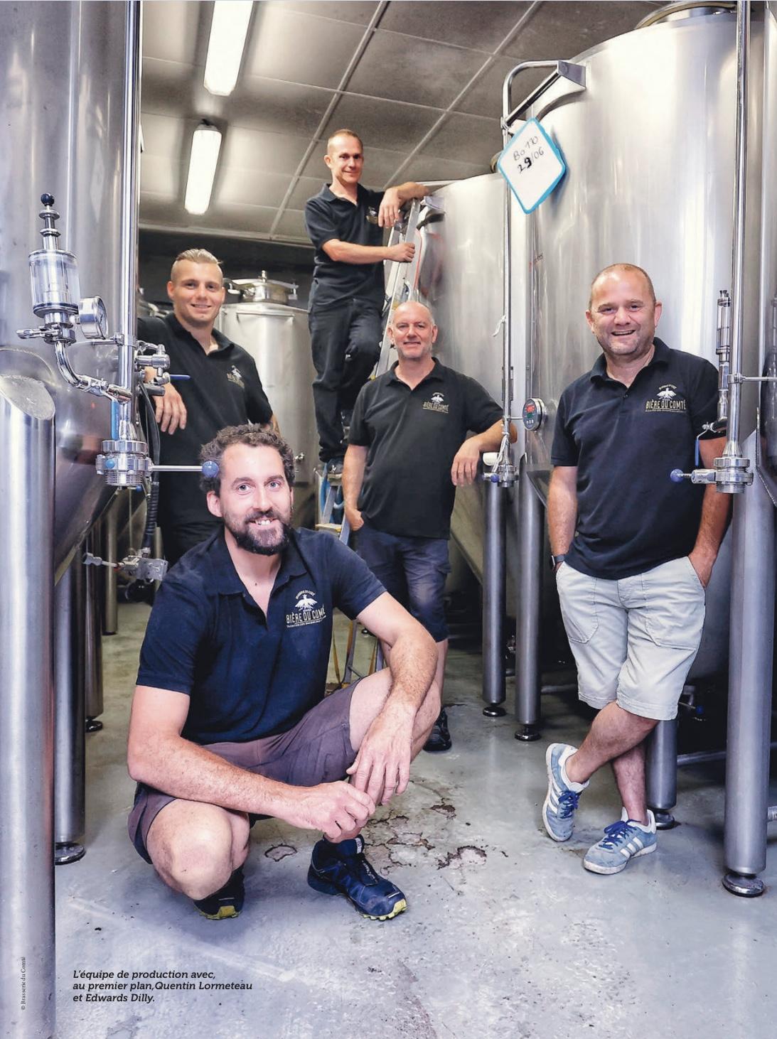 Article » Si la bière m'était Comté…» Biere Magazine Page 1 – Octobre 2020