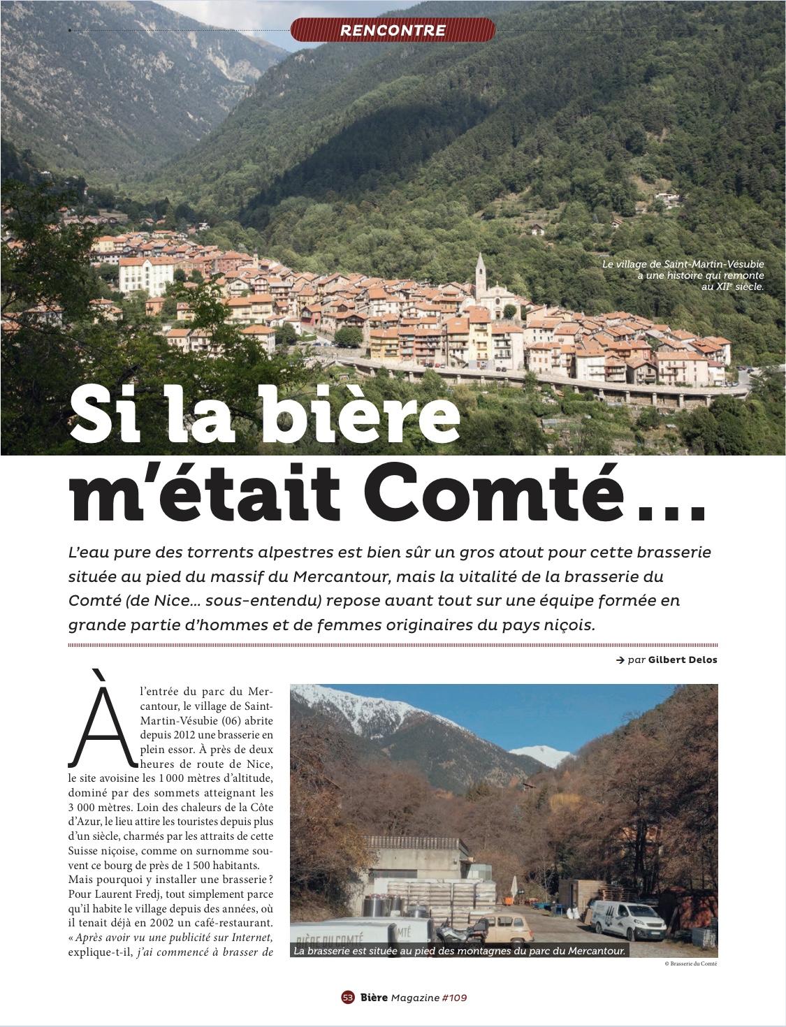 Article » Si la bière m'était Comté…» Biere Magazine Page 2 – Octobre 2020