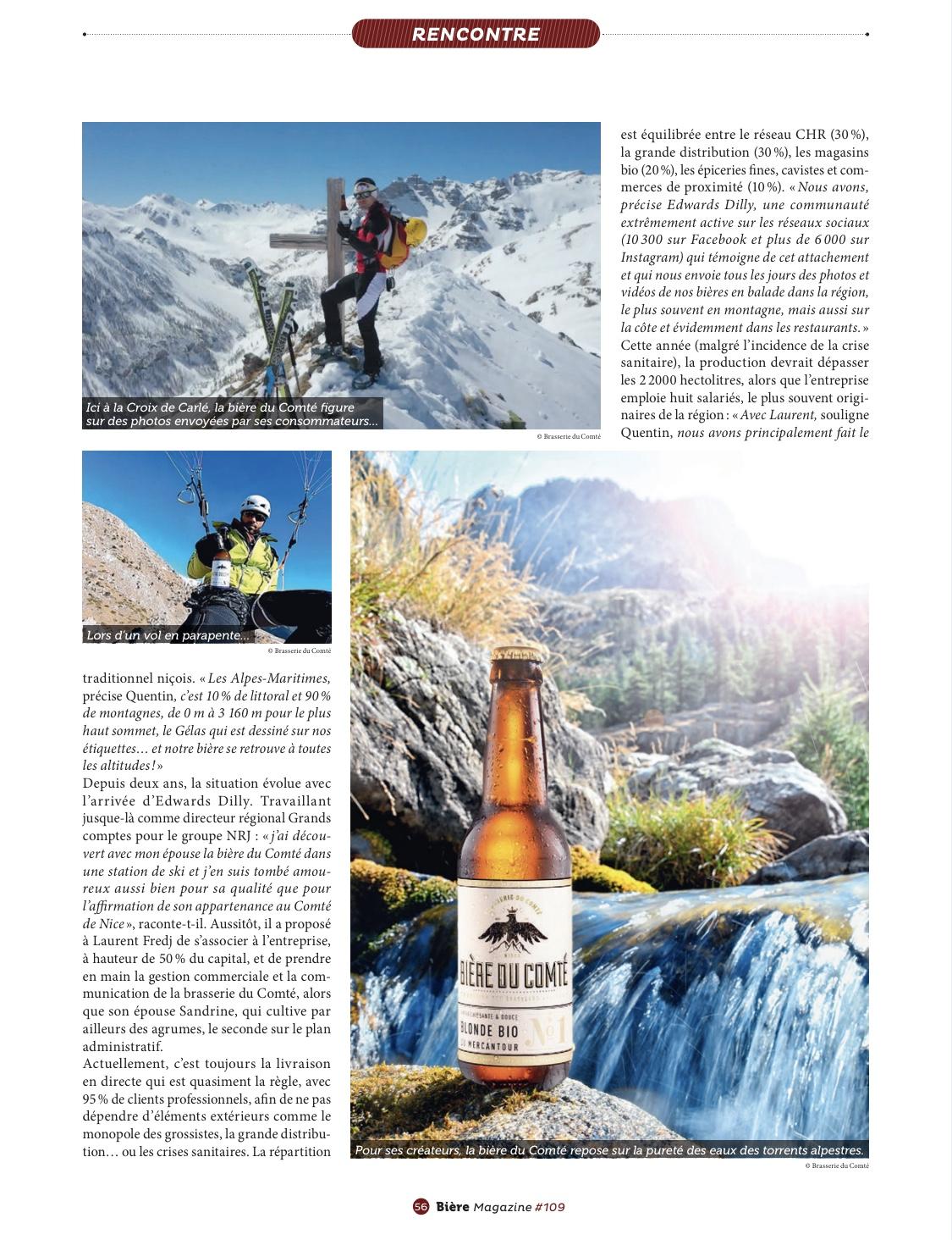 Article » Si la bière m'était Comté…» Biere Magazine Page 5 – Octobre 2020