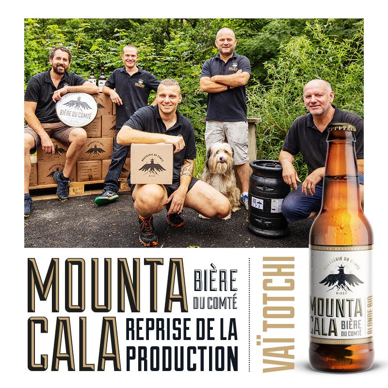 Mounta Cala – Reprise de Production